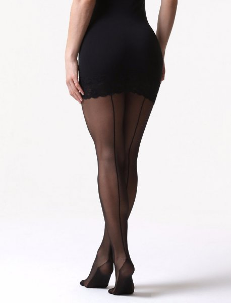 C01 tights: double 20 den with insole reinforcement and backline.